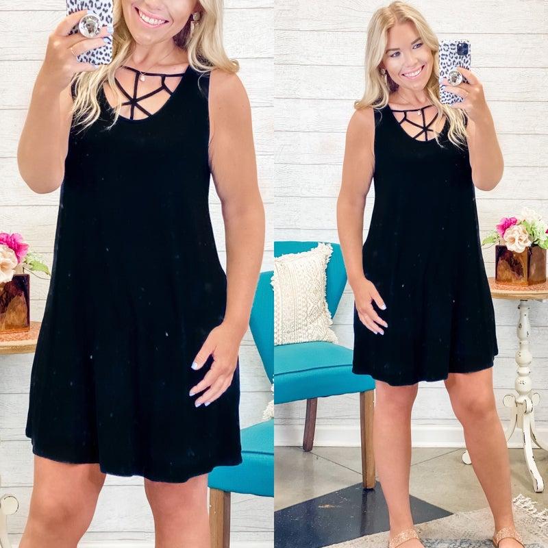 Good For You Dress Black