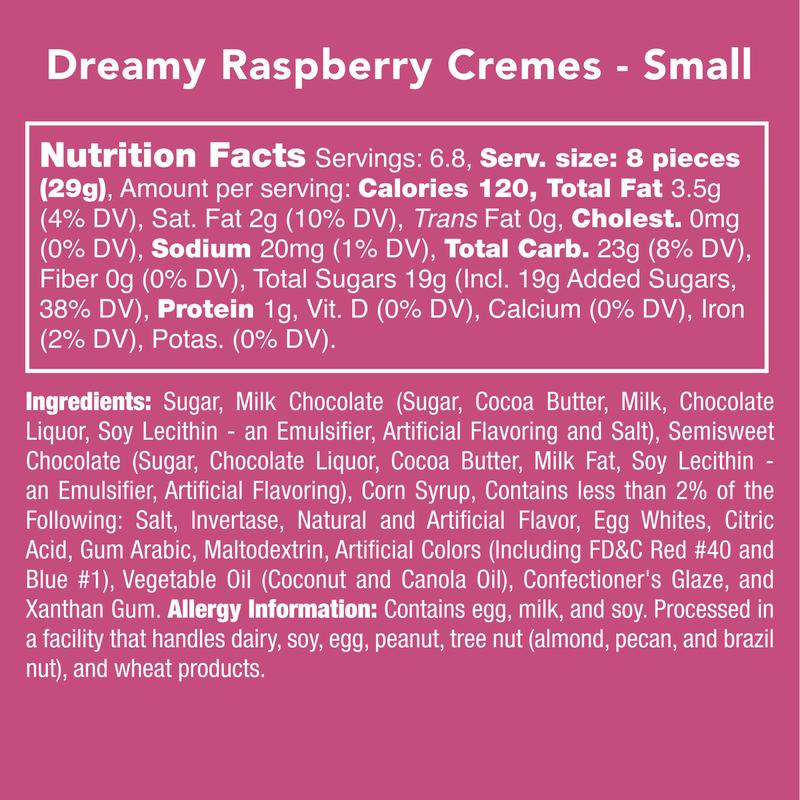 Dreamy Raspberry Cremes