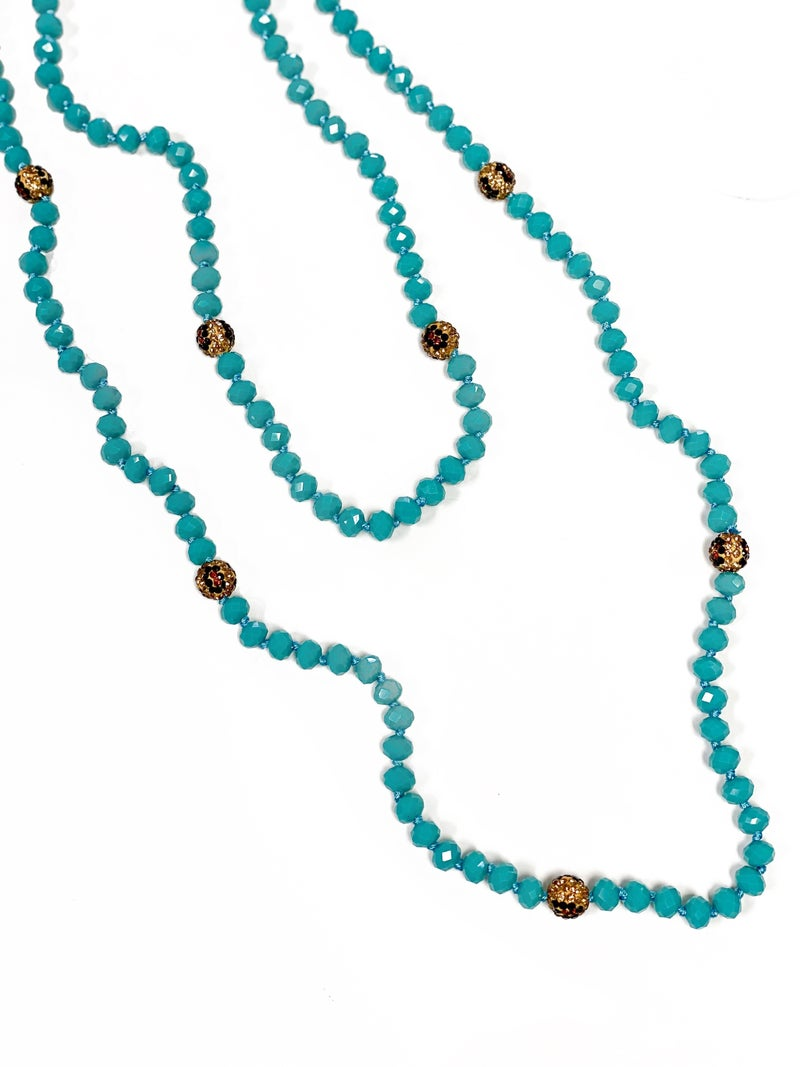 The Kathryn Wrap Turquoise