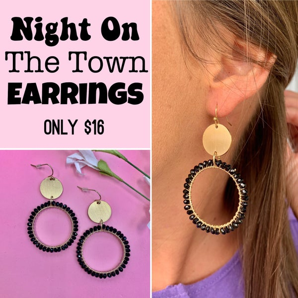 Night On The Town Earrings