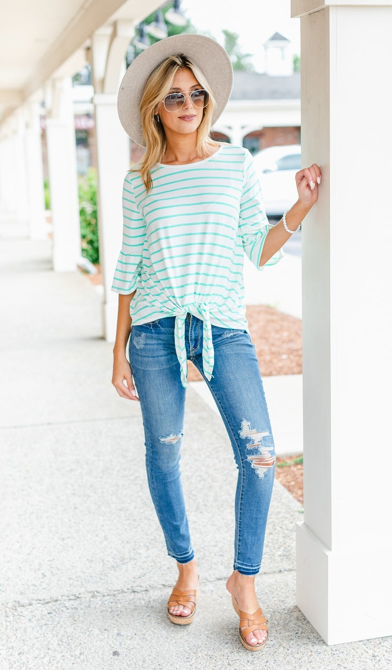 One For All Top, Coral or Mint