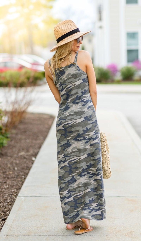 The Dani Maxi Dress, Camo