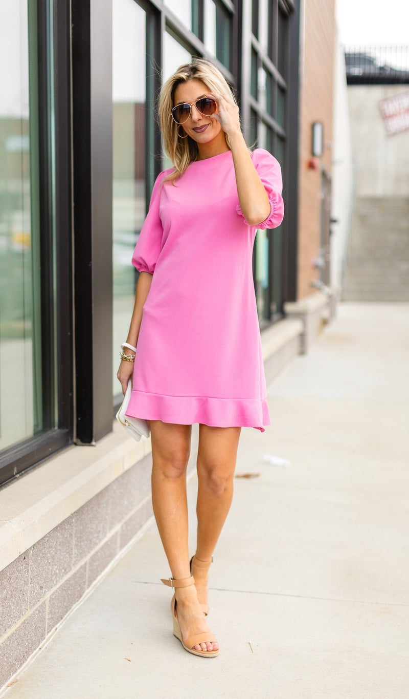 The Parfait Dress, Pink