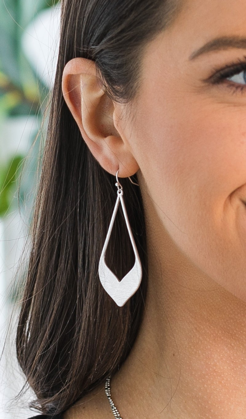 Class Act Earring, Silver
