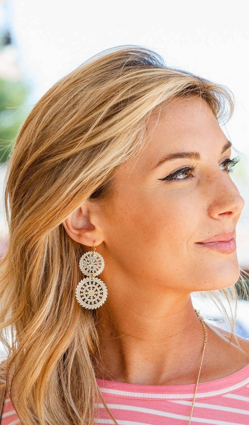 Dassling Skies Earring, Gold or Silver