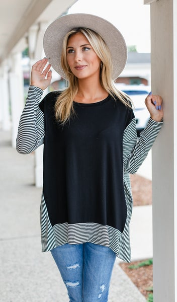 Horizon Tunic, Black