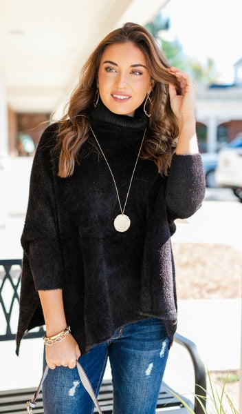 Soft Thoughts Sweater, Black
