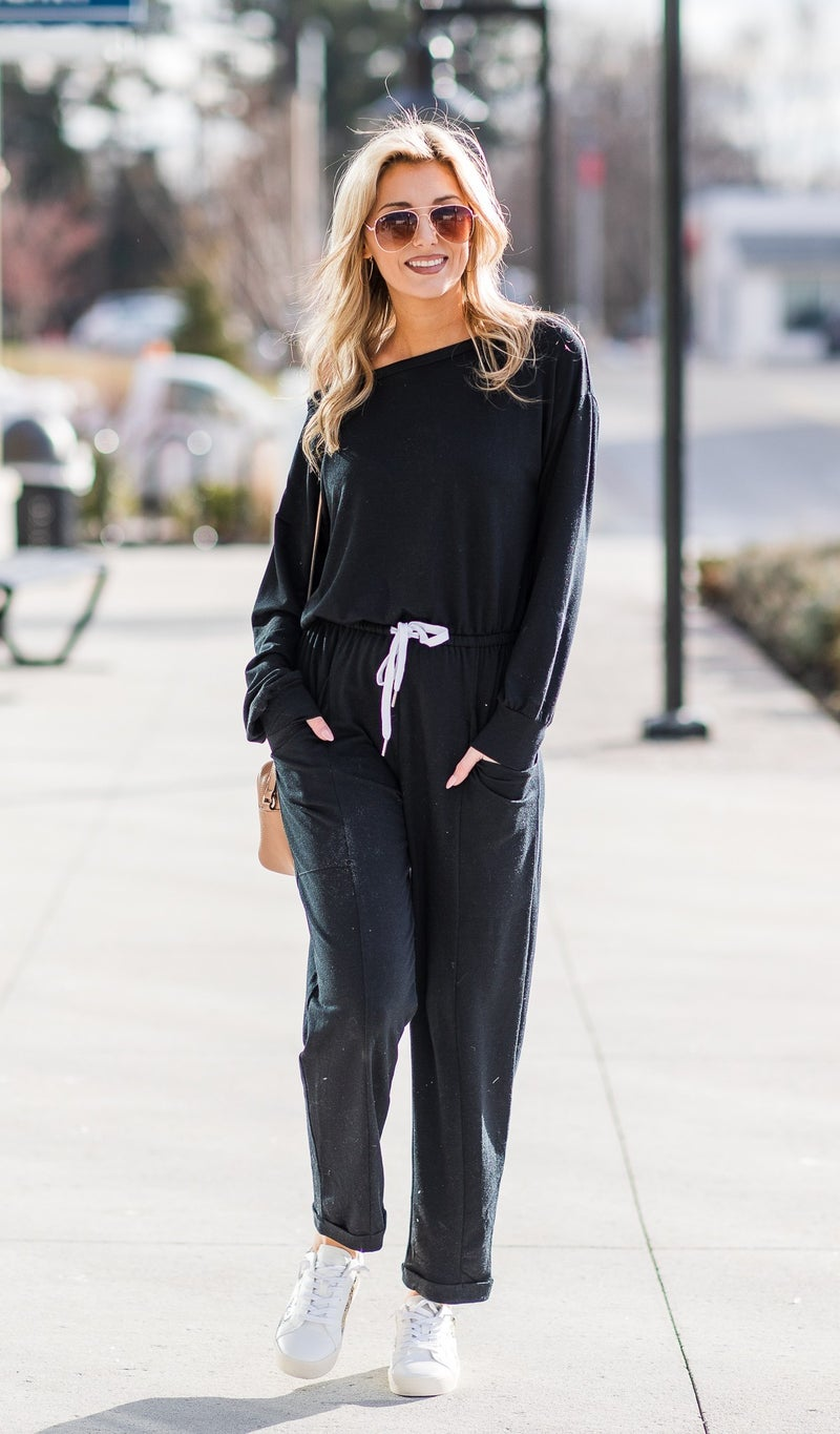 Sunday Best Jumpsuit, Black