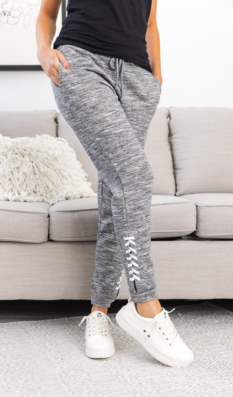 Right On Trend Joggers,Grey or Navy