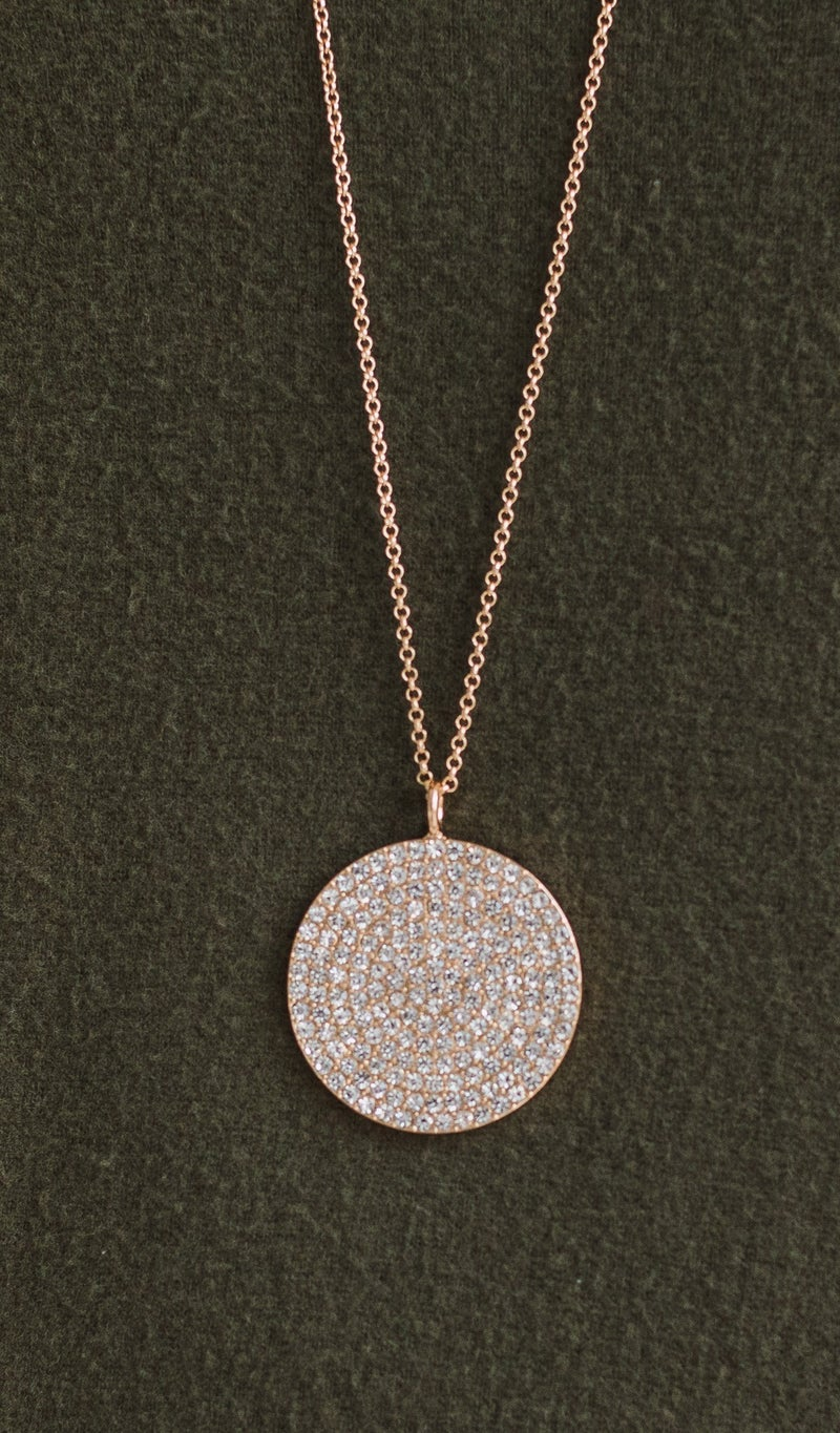 Feel The Sparkle Necklace, Silver or Gold