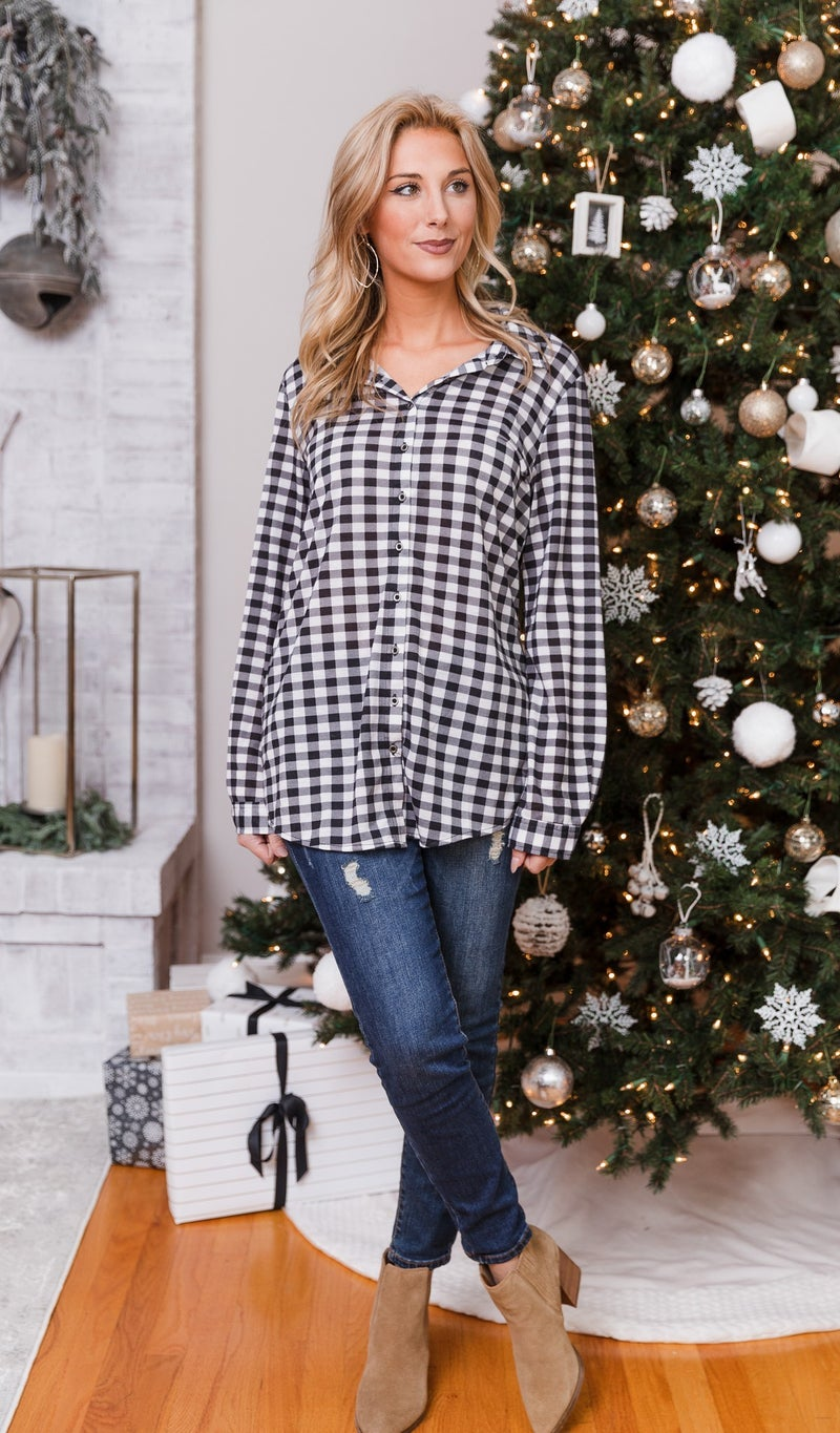 Outback Plaid Shirt, Ivory