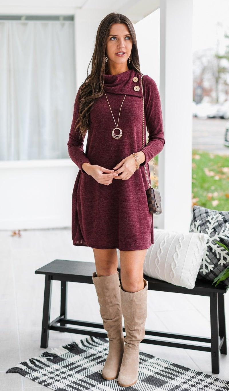 A-List Dress, Wine