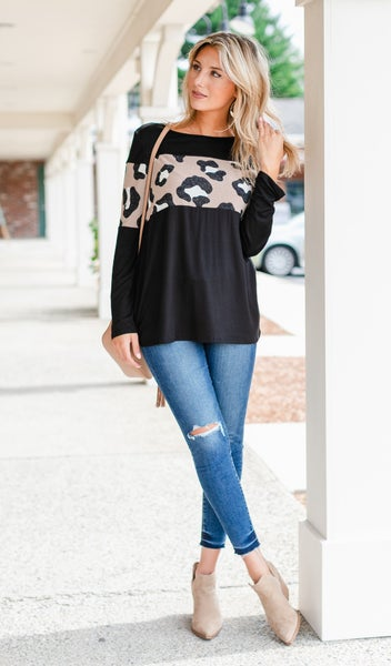 Fast and Fun Top, Black