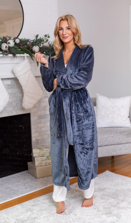 Siesta Key Robes, Charcoal, Blue or Blush