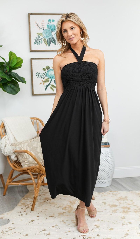 All I Really Want Dress, Black