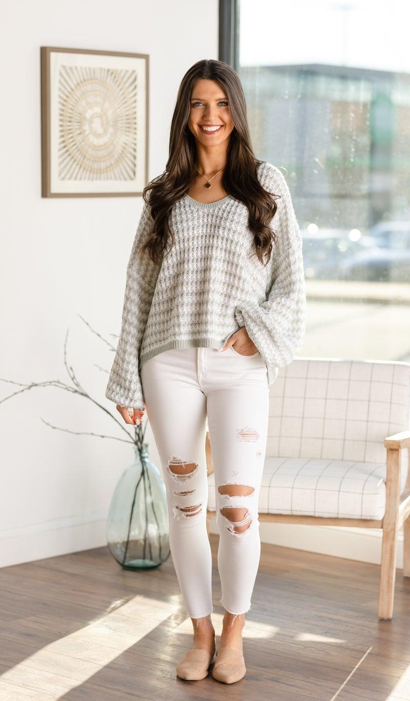 The Seaglass Sweater