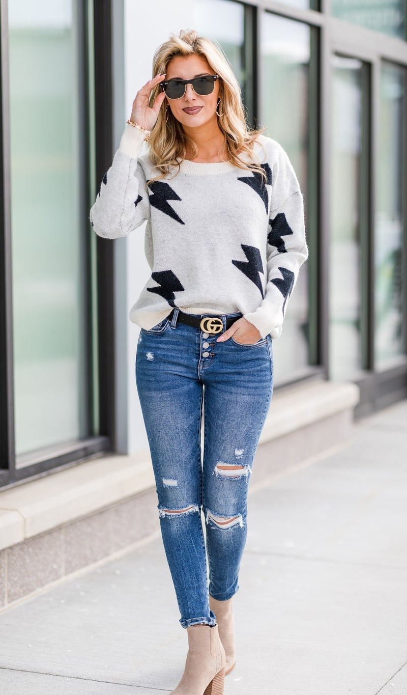 Oh-so-soft Sweater, Print