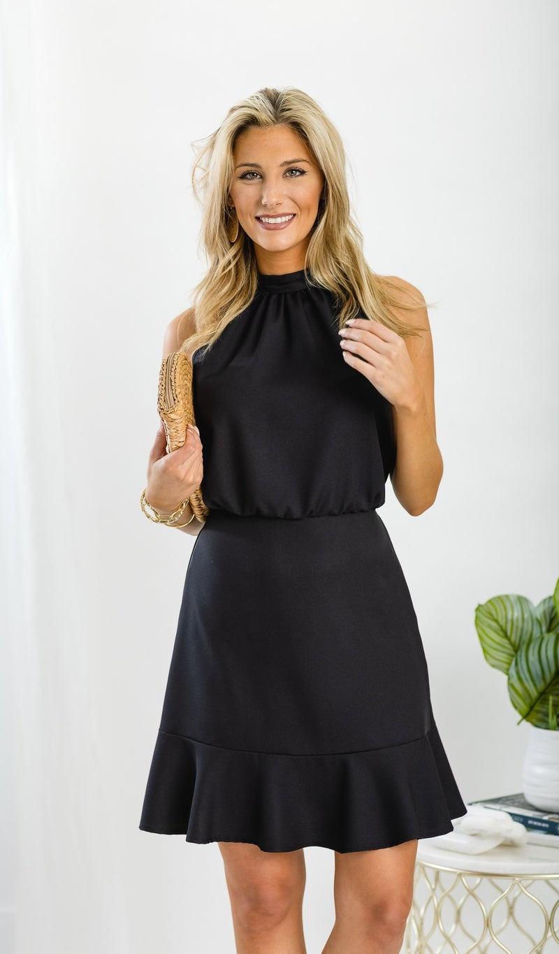 Your Lovely Day Dress, Black