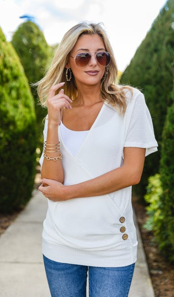 The Nicola Top,  Ivory