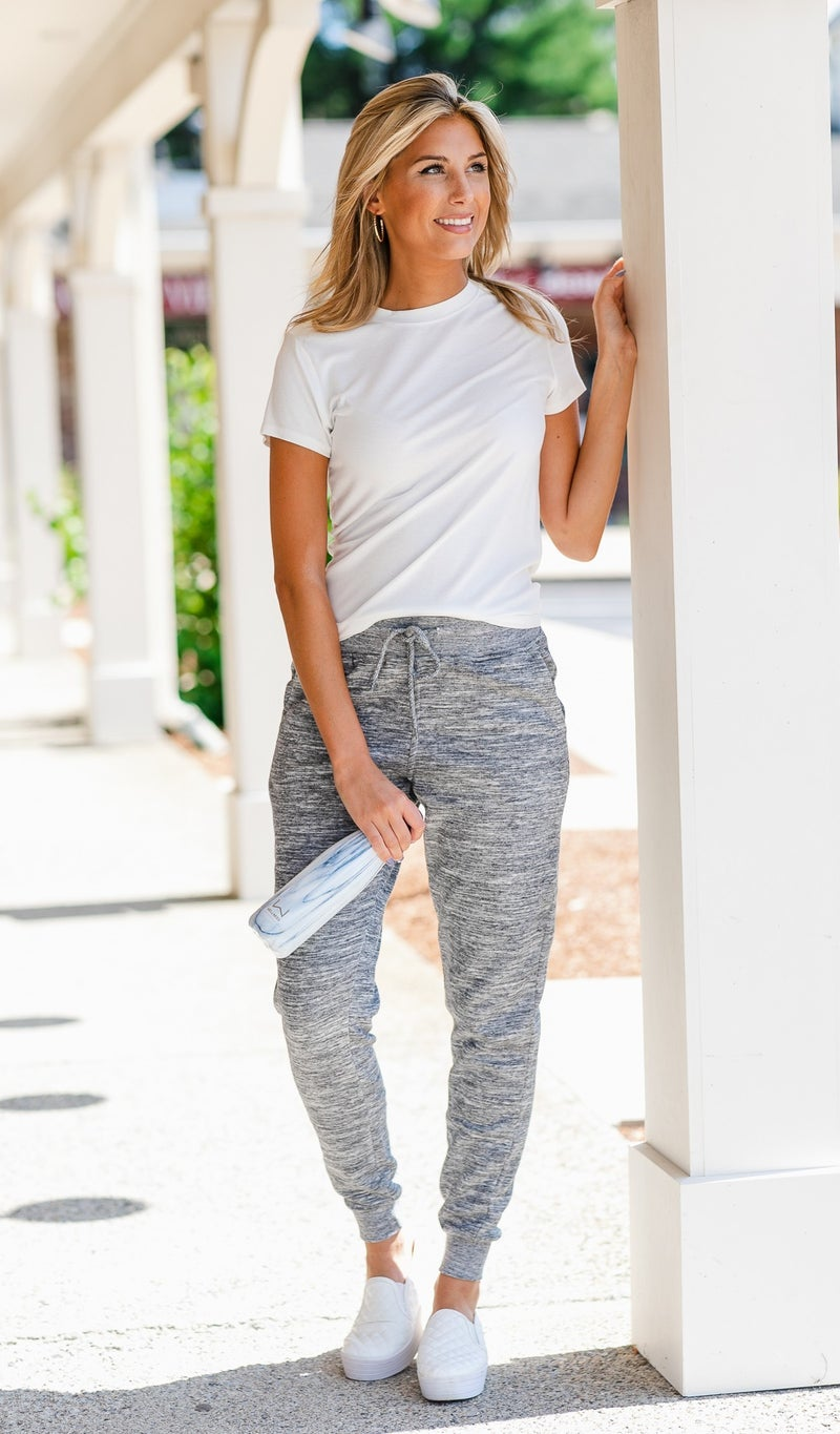 Stand Out jogger, Grey
