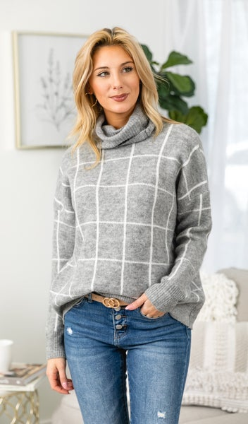 Everything About you Sweater, Grey