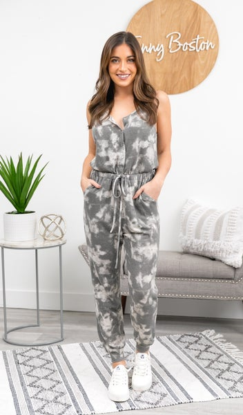 The Coco Jumpsuit, Grey