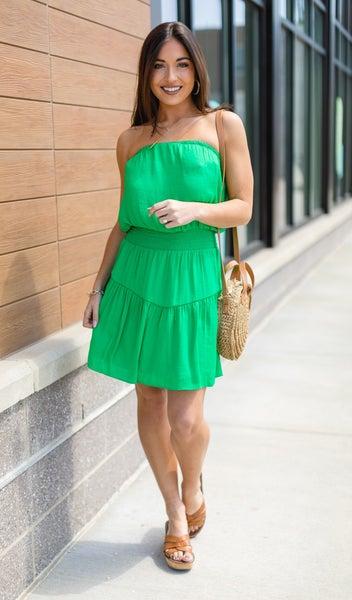 Cabo Dream Dress, Green