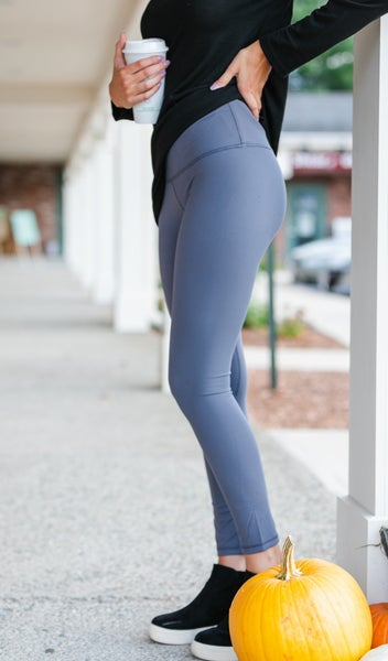 Take On The Day Leggings, Black, Charcoal or Rose