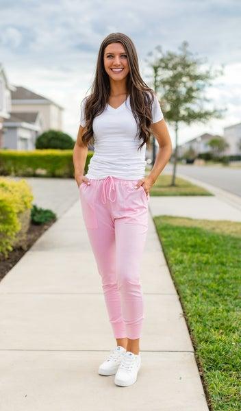 The Vineyard Jogger, Pink