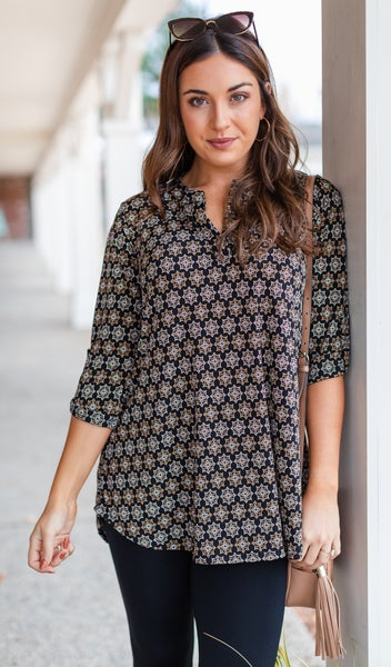 Sweeter Than You Know Tunic, Multi