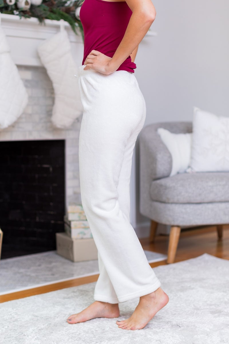 BF EARLY RELEASE!!  Sofia Soft Lounge Pants, Navy, Ivory or Blush *Final Sale*