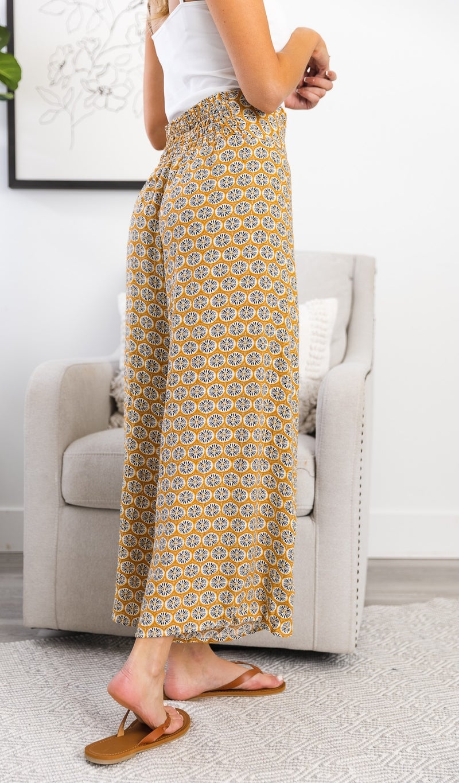 The Marley Pants, Mustard