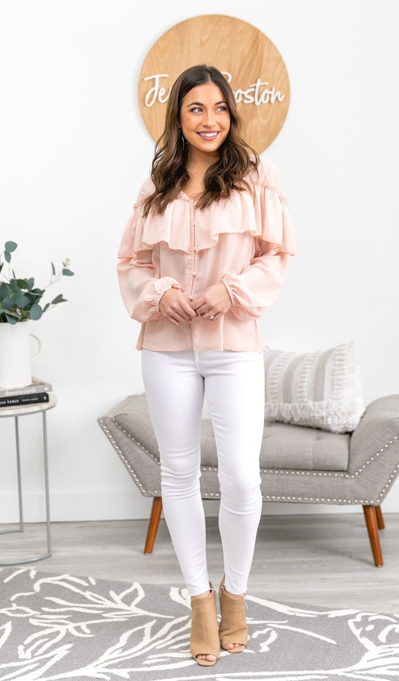 The Nora Blouse, Blush