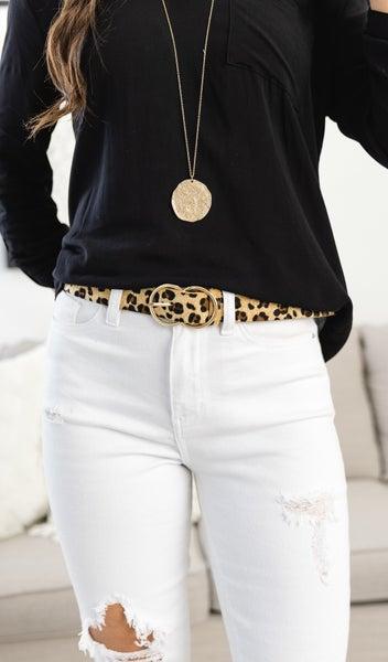 Loving Leopard Belt