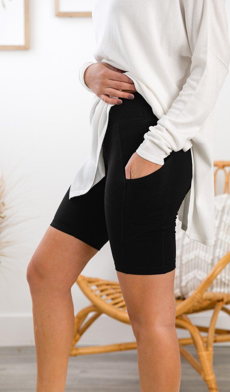 All Comfort Bike Shorts, Black