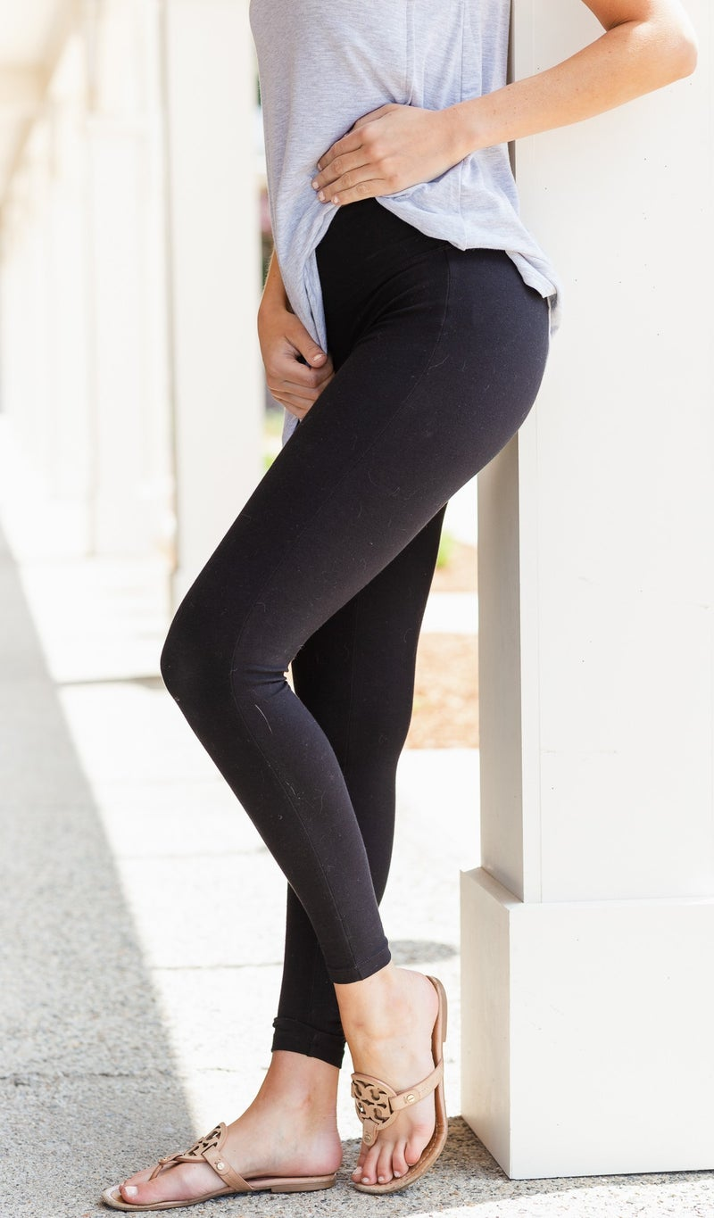 Worth The Wait Leggings, Black