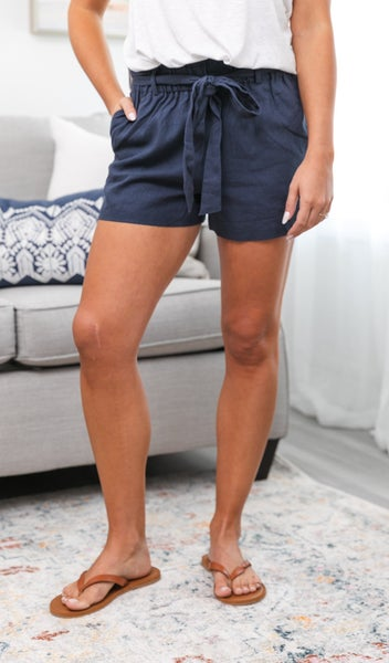 The Alessia Shorts, Navy