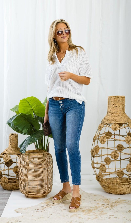 The Perfect Pair Skinny Jeans, Medium Wash