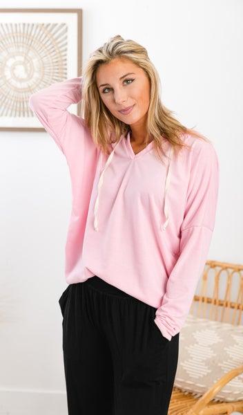 Feeling Good Pullover, Pink