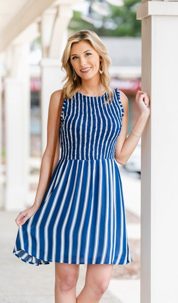 Summer Living  Dress, Navy