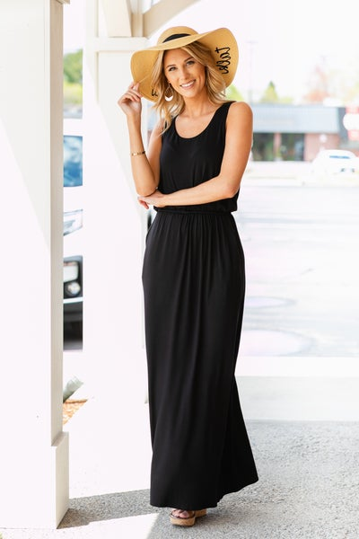 Havana Nights Maxi, Black
