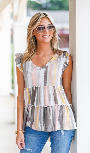 The Ally Top, Print or Stripe