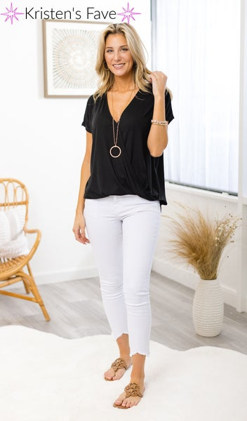 The Harmony Top,  Black
