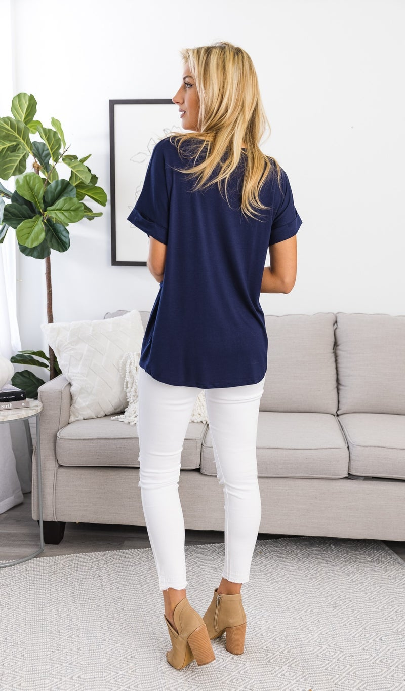 You Look Amazing Top, Mint Or Navy