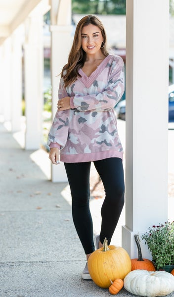 Camo Dreaming Top, Pink