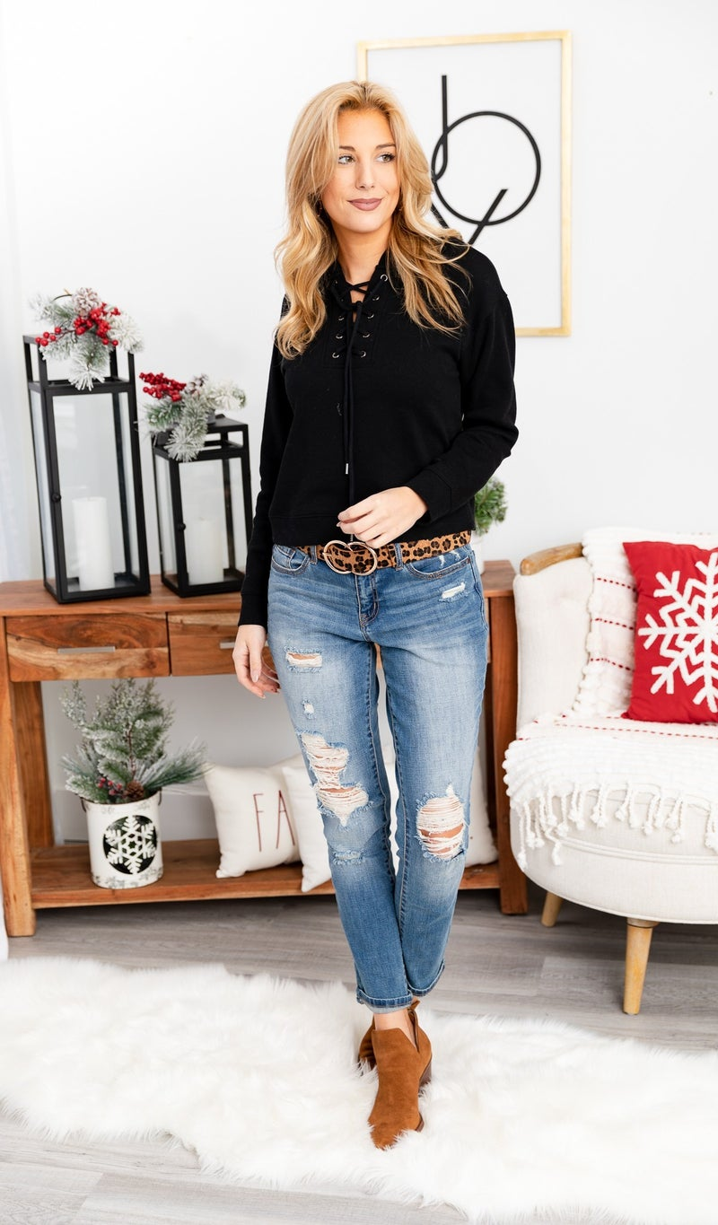 The Everyday Sweater Top, Black, Grey, Stone *Final Sale*
