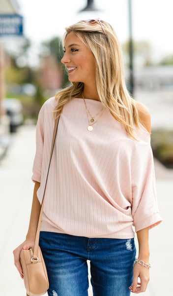 The  Kailey Top,  Blush