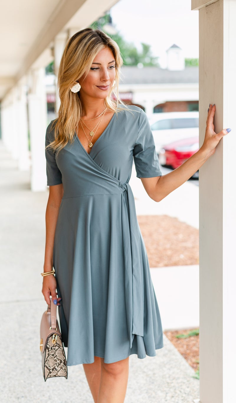 The Favorite Dress, Grey or Navy