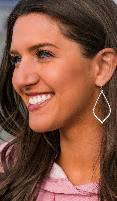 The Sophie Earrings, Silver
