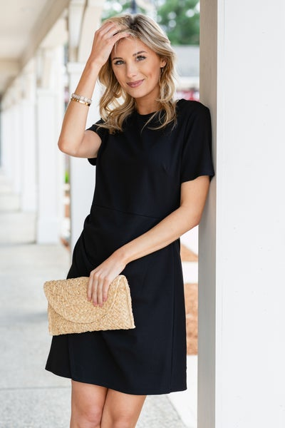 Here To Stay Dress, Black